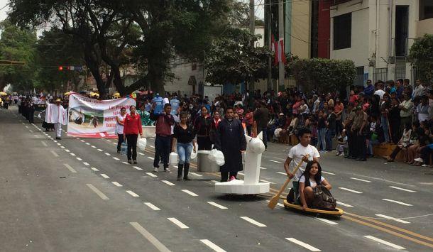 Se resaltó la solidaridad de los piuranos.