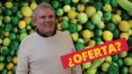 Luis Castañeda Lossio rompe su silencio y... ¿habla sobre el precio del limón? - Noticias de gran mercado mayorista de lima