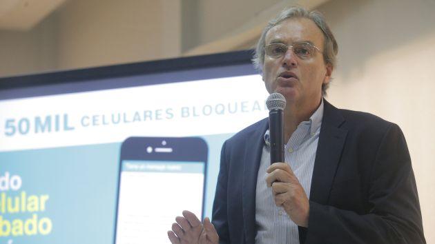 Celular robado, celular bloqueado: Bloquean un millón y medio de equipos