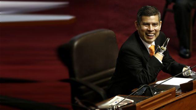 Luis Galarreta es elegido presidente del Congreso