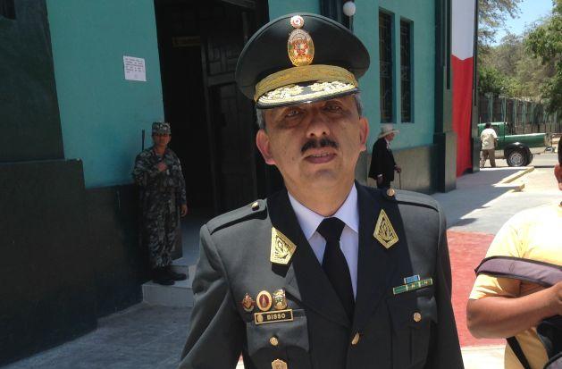El jefe policial, general Luis Bisso, recomendó a la ciudadanía a adoptar medidas de seguridad en estas fechas. (Difusión)