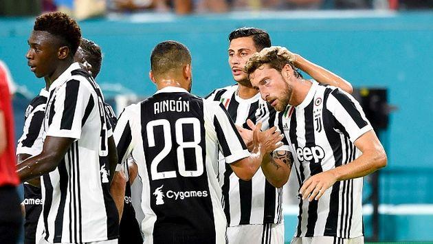 PSG y Juventus se enfrentaron en el Hard Rock Stadium de Florida. (Gettyimages)