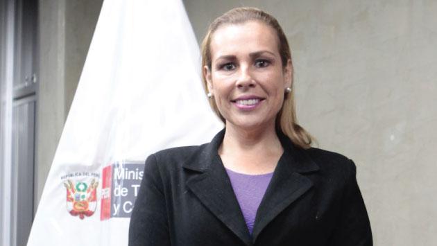 Fiorella Molinelli lleva 18 años sirviendo al Estado y ha sido criticada desde el primer momento que se voceó su nombre.
