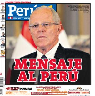 Mensaje al Perú