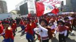 Arequipa: Alumnos que marchaban por Fiestas Patrias se desmayan por el calor. (USI)