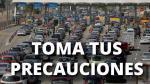 Conoce las restricciones de las principales carreteras en Fiestas Patrias - Noticias de panamericana norte