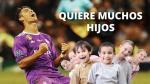 ¿Te imaginas cuántos hijos desea Cristiano Ronaldo? - Noticias de blanca rodriguez