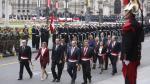 Fiestas Patrias: Así se inició la celebración por 28 de julio en la Plaza de Armas - Noticias de victor rodriguez