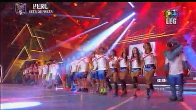 'Cobras' y 'Leones', orientados por Mathias Brivio y Maria Pía Copello, marcharon a su estilo en el set del programa juvenil.