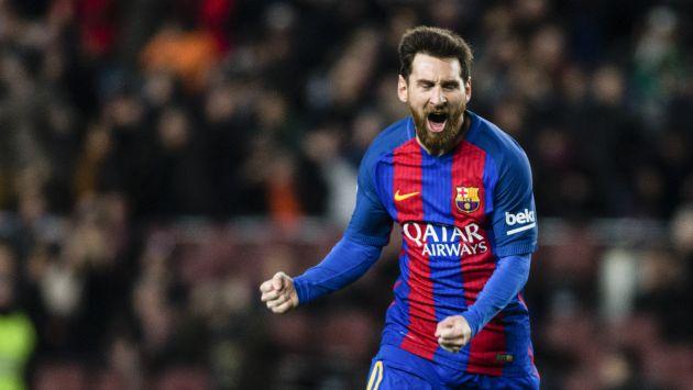Lionel Messi marcó la primera conquista de Barcelona en el clásico frente a Real Madrid en Miami. (GETTY IMAGES)