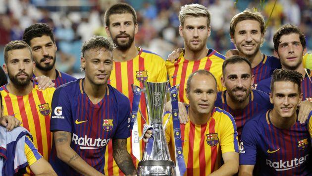 Barcelona y Real Madrid protagonizaron una edición inédita del clásico español por la International Champions Cup. (AP)
