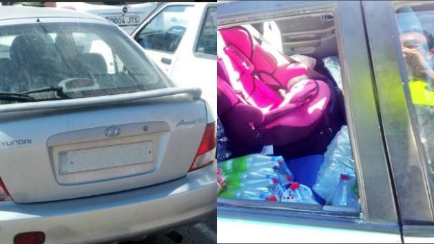 España: Madre y abuela van a prisión por dejar a niña dentro de un carro bajo intenso calor. (Twitter/@Policia_Almeria)