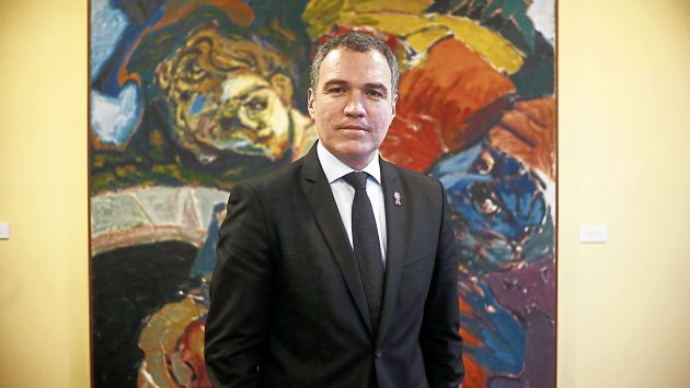 Salvador del Solar (Renzo Salazar/Perú21)