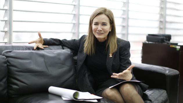 La ministra respondió a las acusaciones realizadas por un medio local. (Mario Zapata/Perú21)