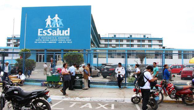 El hospital Almanzor Asenjo de Chiclayo es uno de los más quejados en Lambayeque.