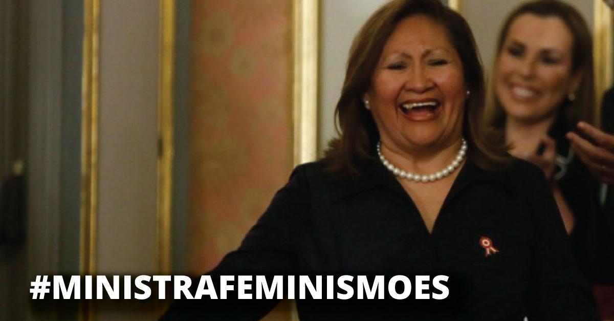 Así fue la lección de feminismo que recibió la ministra Ana María Choquehuanca.