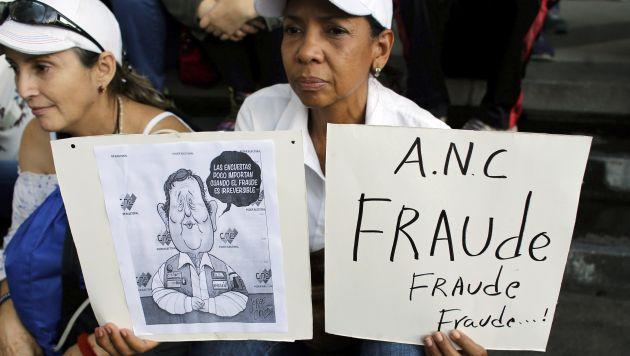 Declaran fraude en votación en Venezuela. (AP)