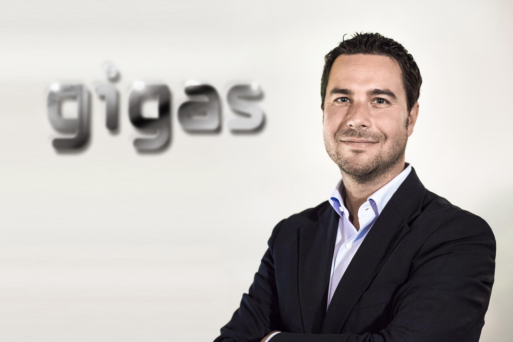 Diego Cabezudo, en la actualidad, es el CEO y co-fundador de la compañía multinacional Gigas.
