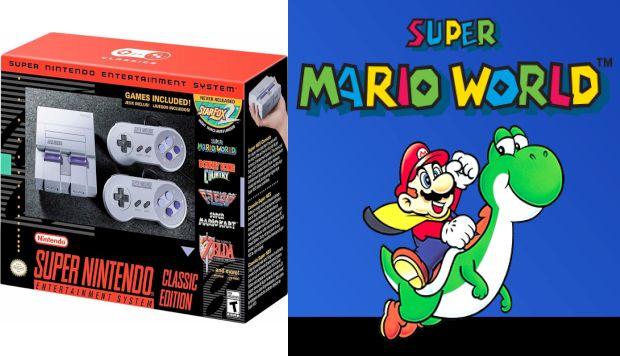 'SNES Classic Edition': La consola retro de Nintendo inicia su preventa a fin de mes (Composición/Difusión)