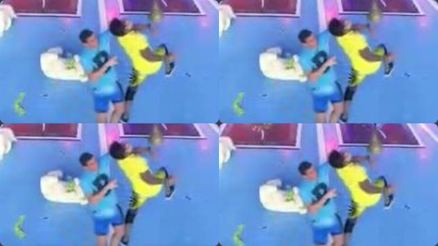 Ímpetu de guerreros les jugó una mala pasada durante competencia. (América)