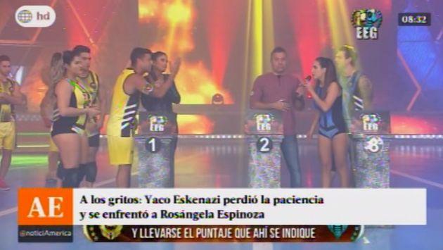 "Yaco Eskenazi a Rosángela Espinoza: ""Prefiero ser burro que mentiroso"" (América TV)"