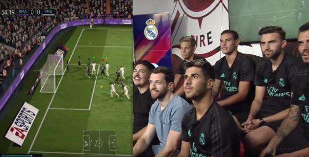 Real Madrid: Jugadores merengues se desafiaron en videojuego 'FIFA 18'