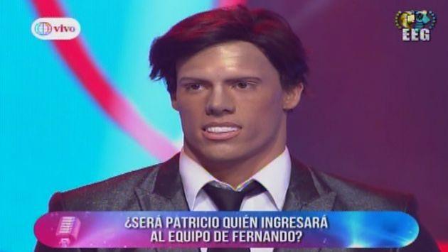Maquillaje y personificación del 'Pato' lo hicieron pasar a la siguiente ronda de competencia en EEG. (Captura Canal 4)