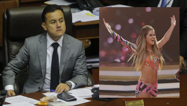Richard Acuña tuvo gratas palabras para Brunella Horna. (Perú21)