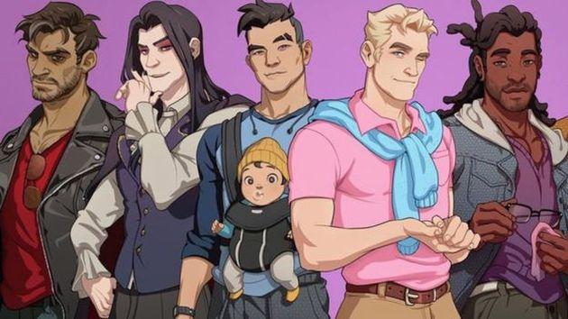 'Dream Daddy': El videojuego simulador de citas entre padres gay es un éxito (GAMEGRUMPS)