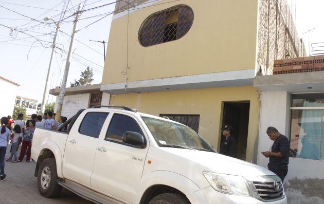 Sujeto mató a su pareja y a su hija en la casa que compartían en Chiclayo. (Nadia Quinteros)