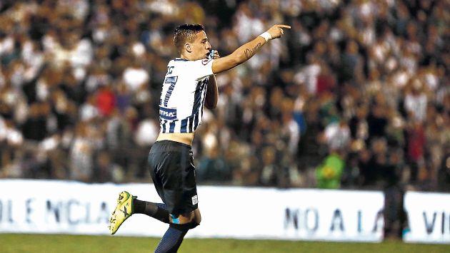 Alianza Lima: Gonzalo Godoy es el hombre de moda en la Victoria por sus dos goles. (USI)
