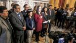 Congresistas disidentes del Frente Amplio quedaron sin comisiones - Noticias de renuncia