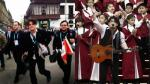 'Pelo' Madueño a sus críticos: 'Me sentí honrado de cantar en Palacio' - Noticias de huaicos