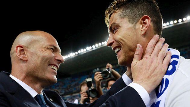 Zidane es consciente que Ronaldo está comprometido con el equipo y no se arrepiente de su decisión. (Getty images)