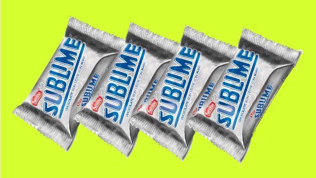Nestlé le responde a Minagri y asegura que el 'Sublime' es chocolate. (USI)