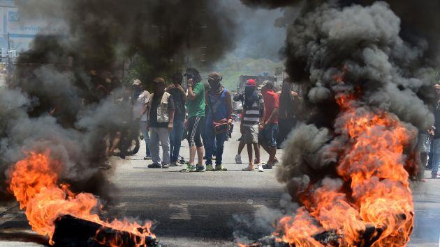 Continúan las protestas contra Nicolás Maduro en Venezuela (AFP).