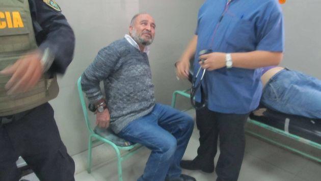 Roberto Torres fue trasladado al hospital Las Mercedes de Chiclayo.