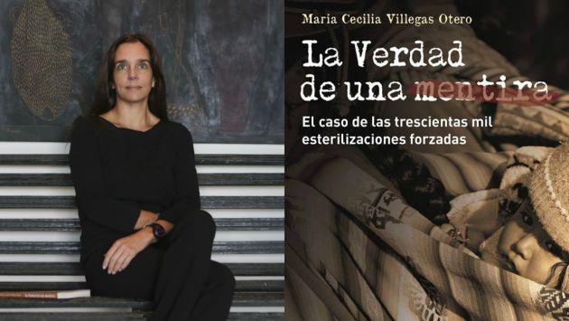 La abogada María Cecilia Villegas publica 'La verdad de una mentira'.