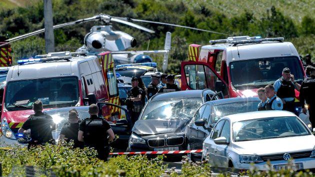 Francia: Atropellan a seis militares en ataque terrorista (AFP)