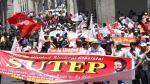 Huelga de maestros se desarrolla con marchas, protestas y bloqueos en todo el país [FOTOS] - Noticias de Áncash