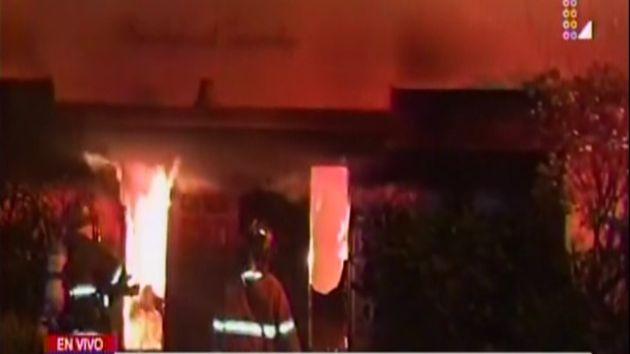 San Isidro: Incendio en edificio residencial dejó 7 personas heridas. (Latina)