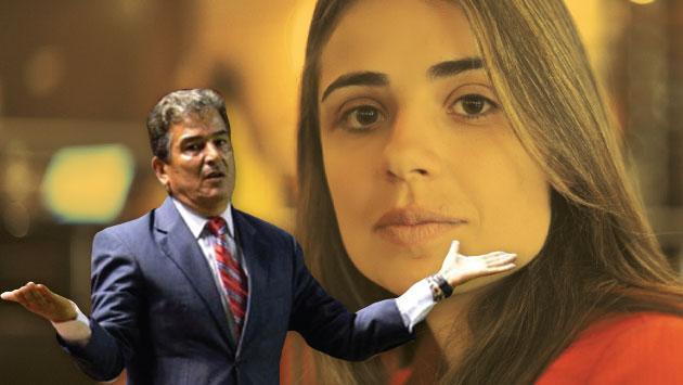 Jorge Luis Pinto llegó de Honduras para defender a su hija, según la versión de ella.