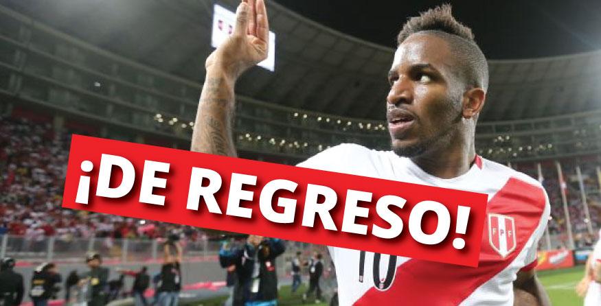 Farfán vuelve a la selección peruana.