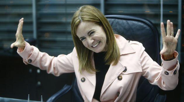 Ministra de Educación espera llegar a más acuerdos tras sus reuniones de hoy (Luis Centurión).