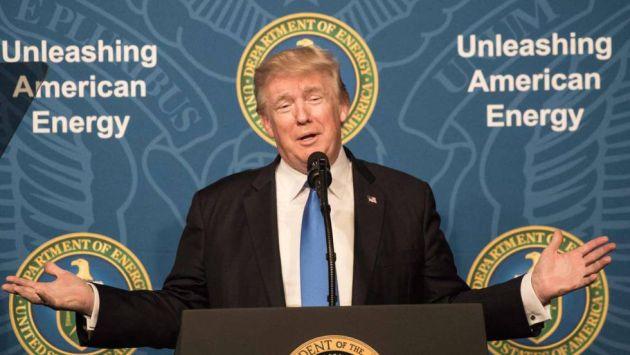 Donald Trump lanza nueva advertencia contra Corea del Norte (Efe).