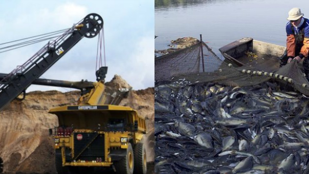 Pesca y minería habrían impulsado el crecimiento en junio.