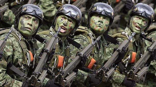'Serpiente de fuego', la poderosa arma con la que México combate el narcotráfico y la inseguridad (Referencial/Reuters)
