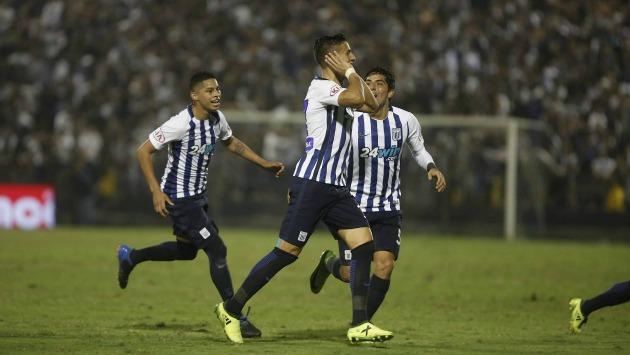Alianza Lima celebra la decisión (César Campos)