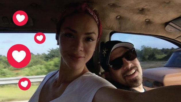 Pedro Moral le envía este tierno mensaje a Sheyla Rojas tras oficializar su relación. (Facebook Sheyla)