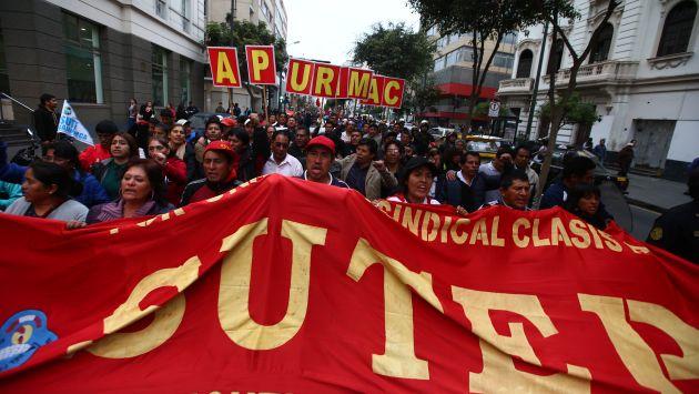 Profesores tienen hasta hoy para poner fin a la huelga. (Perú21)